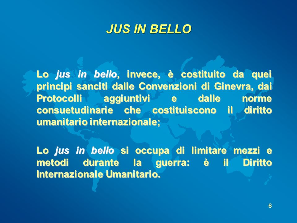 JUS IN BELLO