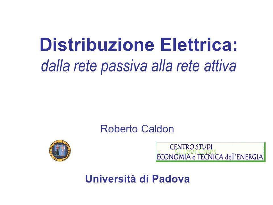 Distribuzione Elettrica: dalla rete passiva alla rete attiva