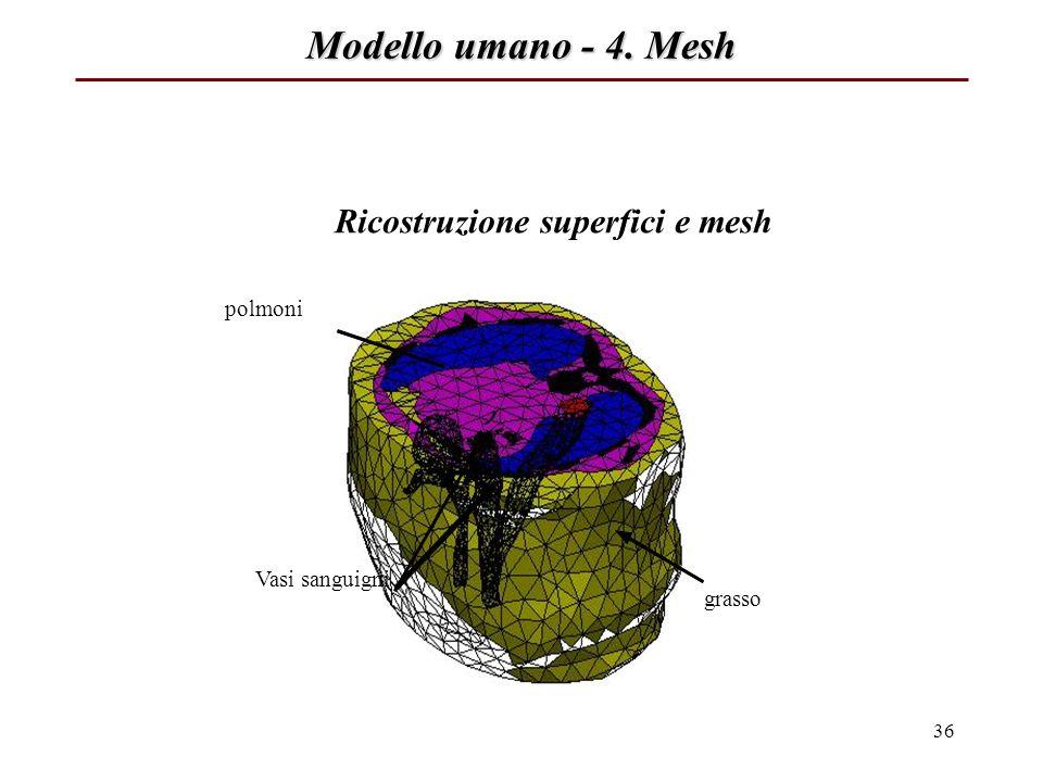 Ricostruzione superfici e mesh