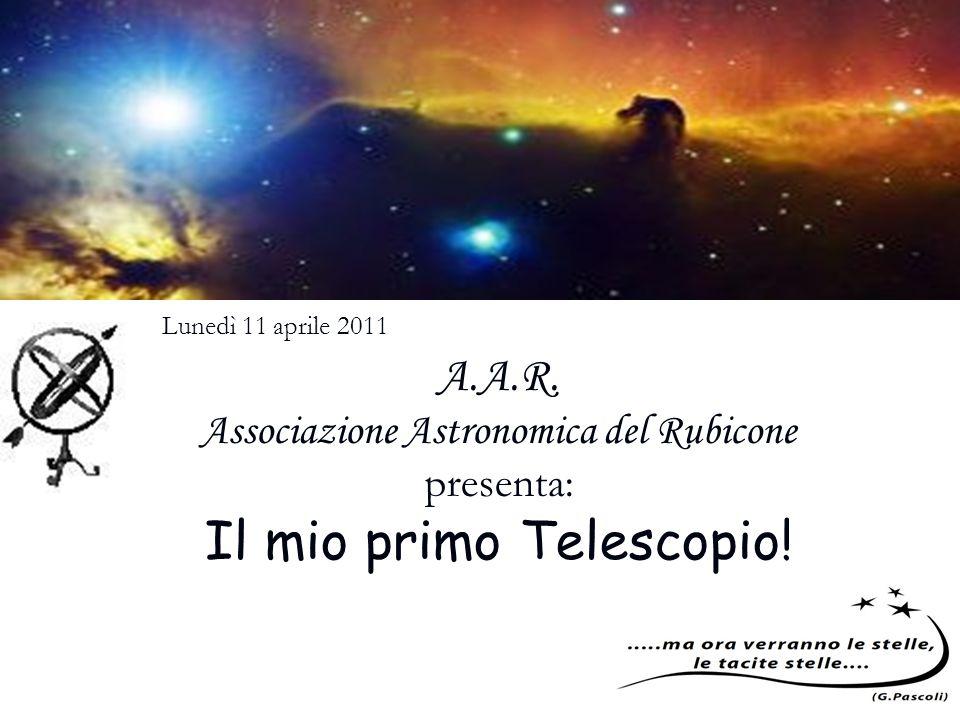 Il mio primo Telescopio!