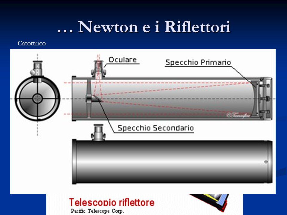 … Newton e i Riflettori Catottrico