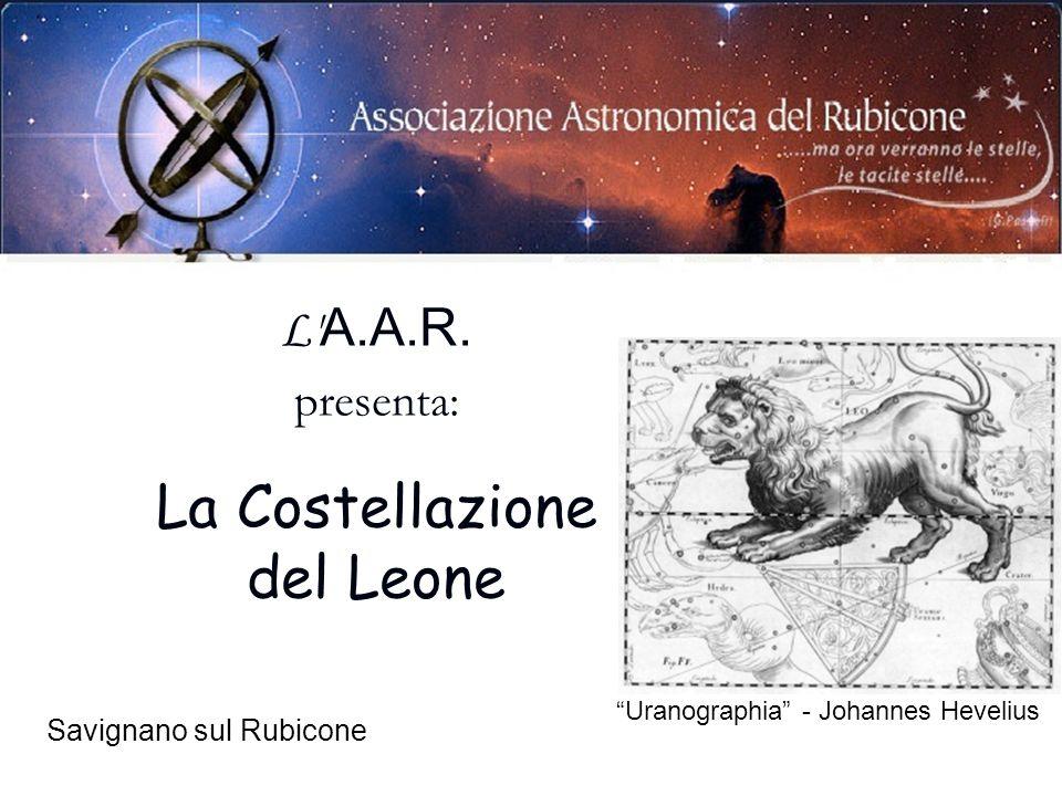 La Costellazione del Leone L A.A.R. presenta: Savignano sul Rubicone