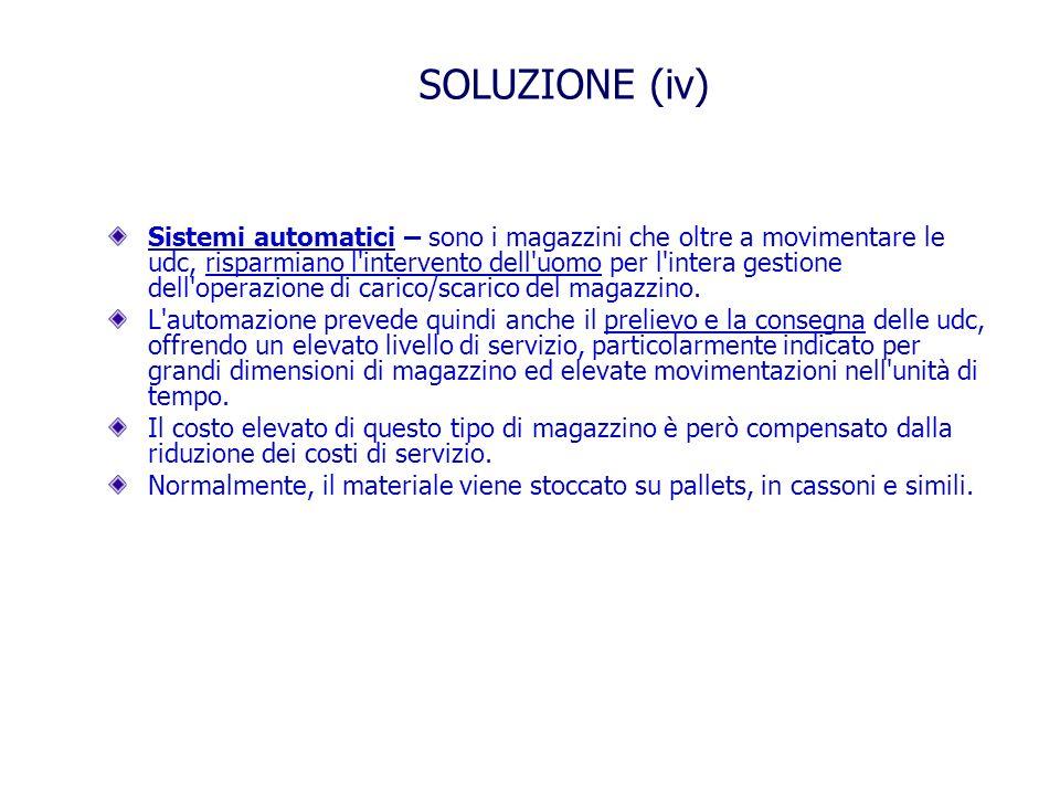 SOLUZIONE (iv)