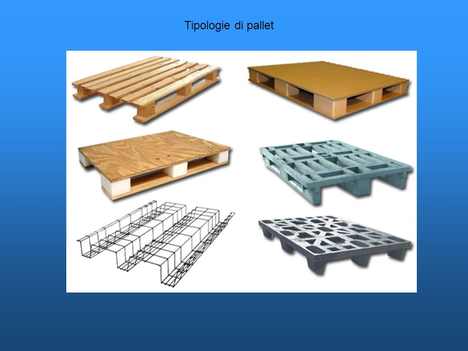 Tipologie di pallet