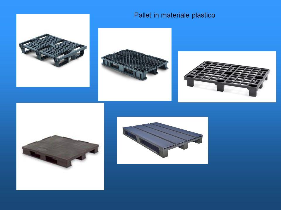 Pallet in materiale plastico