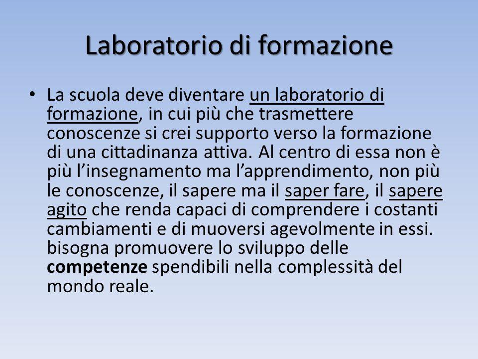 Laboratorio di formazione