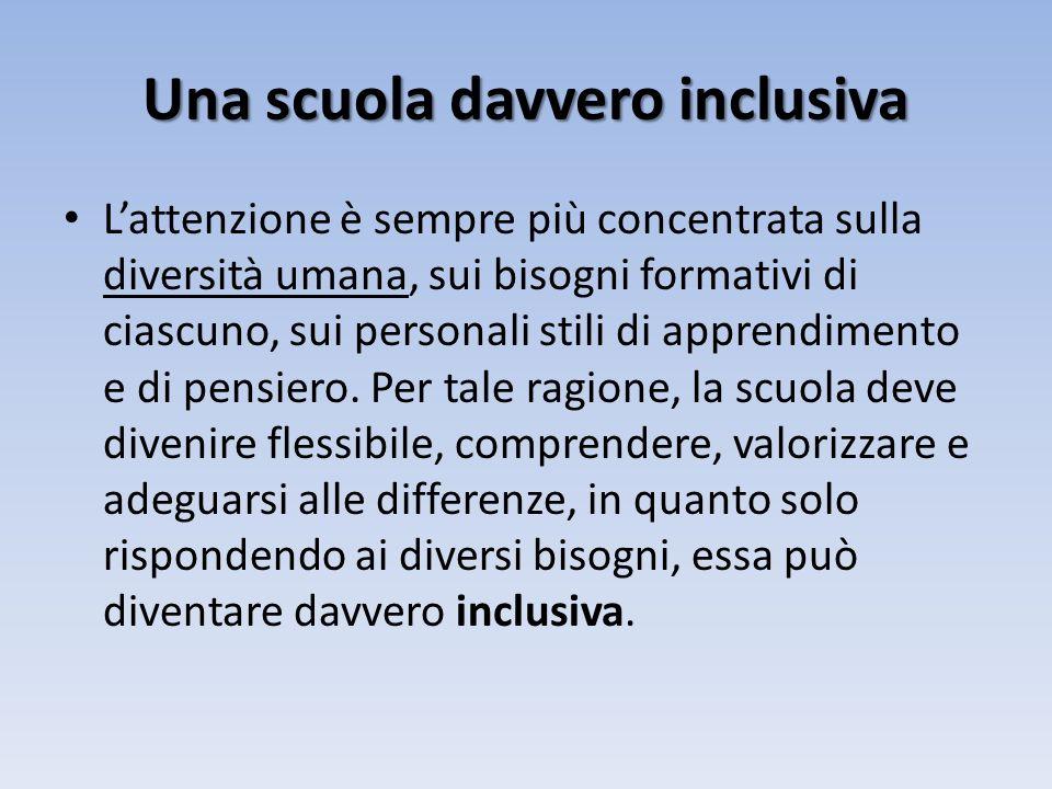 Una scuola davvero inclusiva