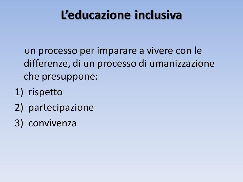 L'educazione inclusiva