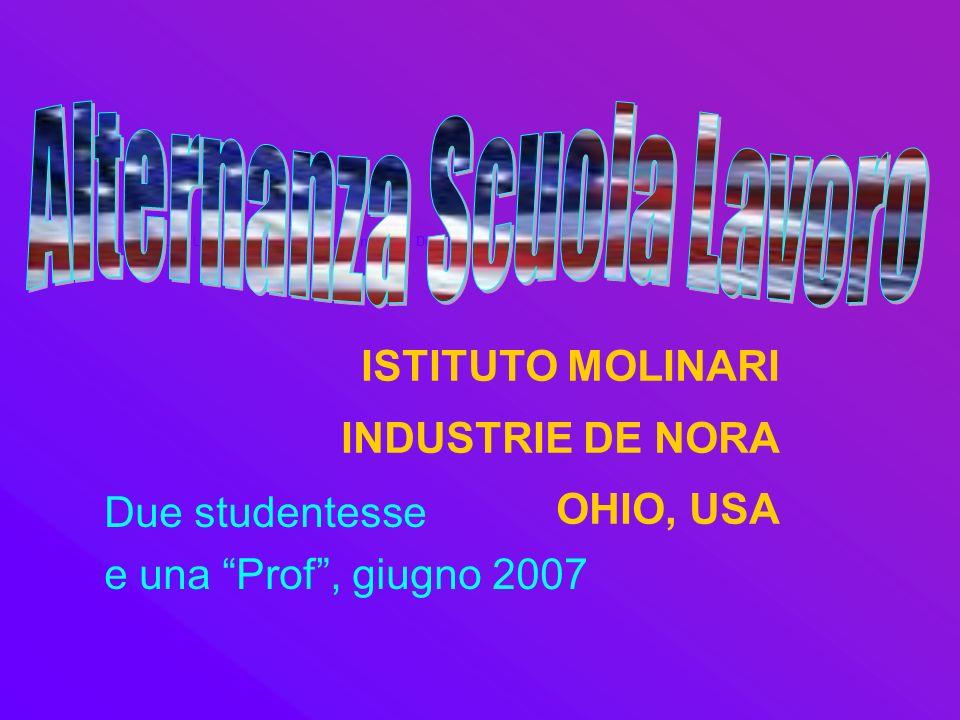 ISTITUTO MOLINARI INDUSTRIE DE NORA OHIO, USA