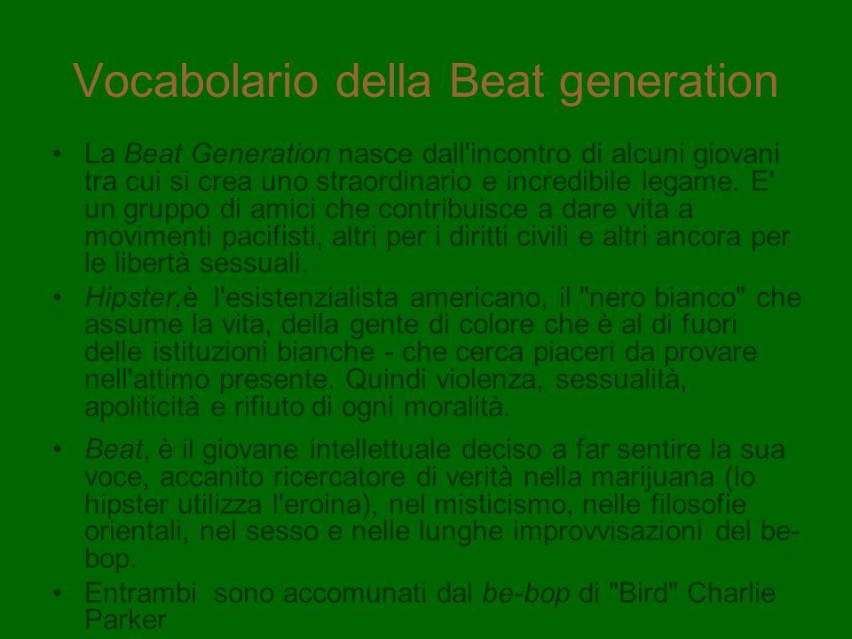 Vocabolario della Beat generation