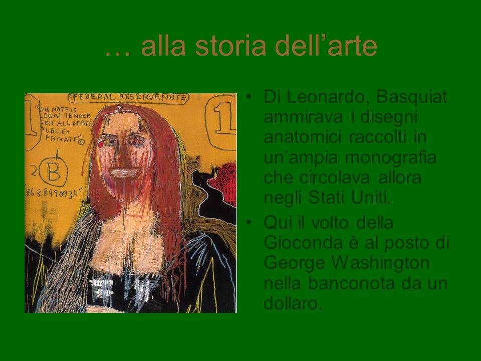 … alla storia dell'arte