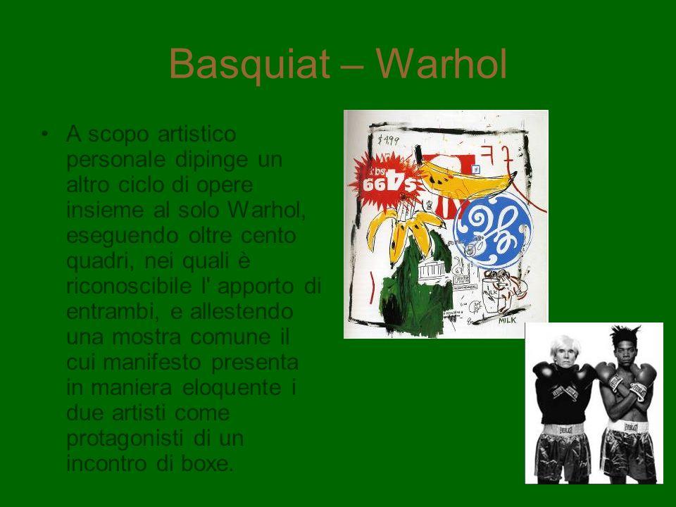 Basquiat – Warhol