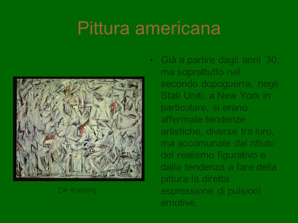 Pittura americana