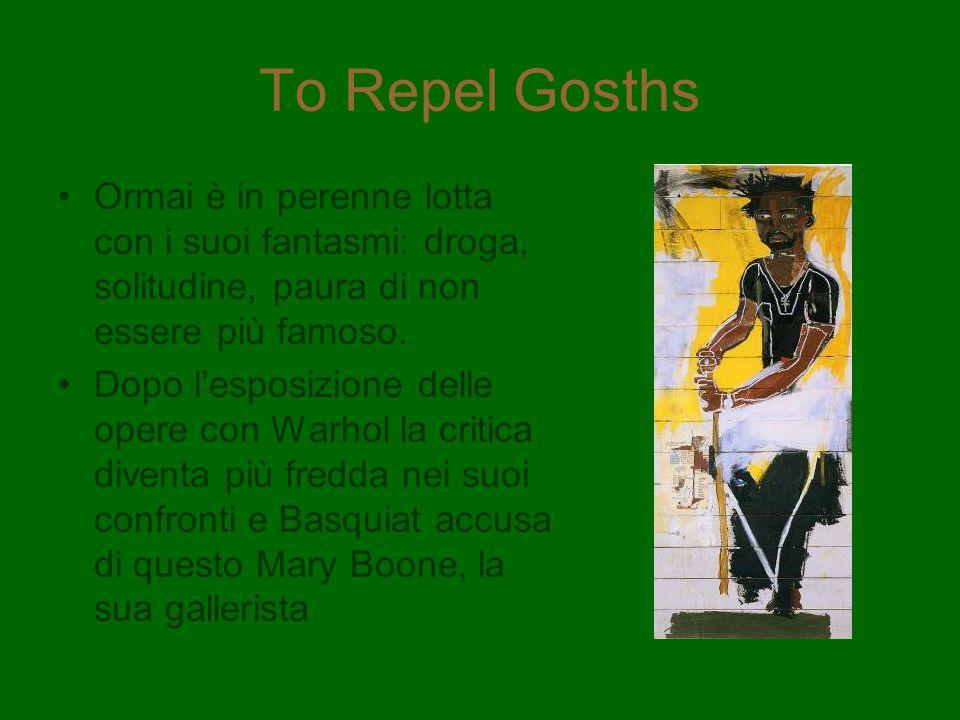 To Repel Gosths Ormai è in perenne lotta con i suoi fantasmi: droga, solitudine, paura di non essere più famoso.