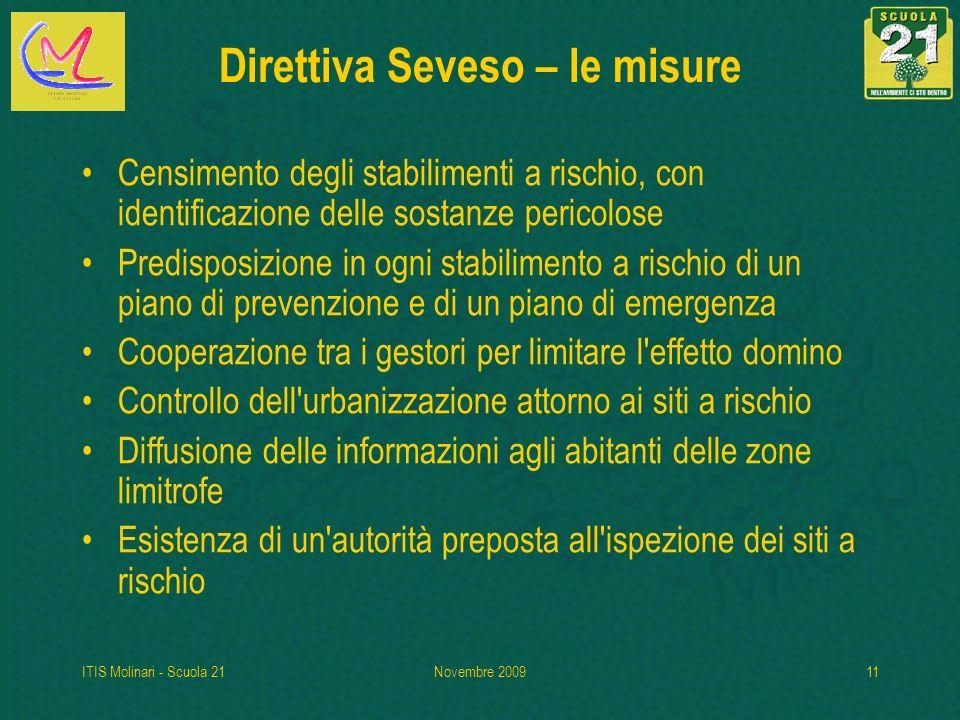 Direttiva Seveso – le misure