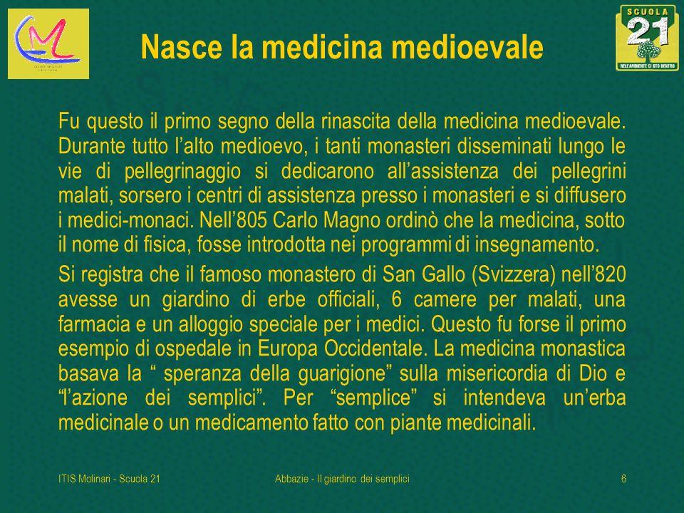 Nasce la medicina medioevale