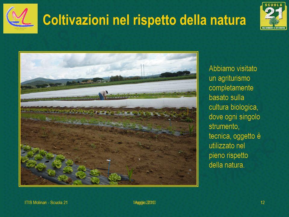 Coltivazioni nel rispetto della natura
