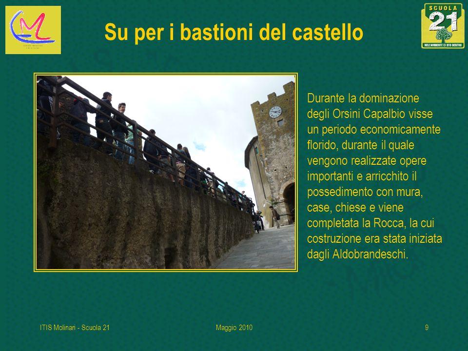 Su per i bastioni del castello