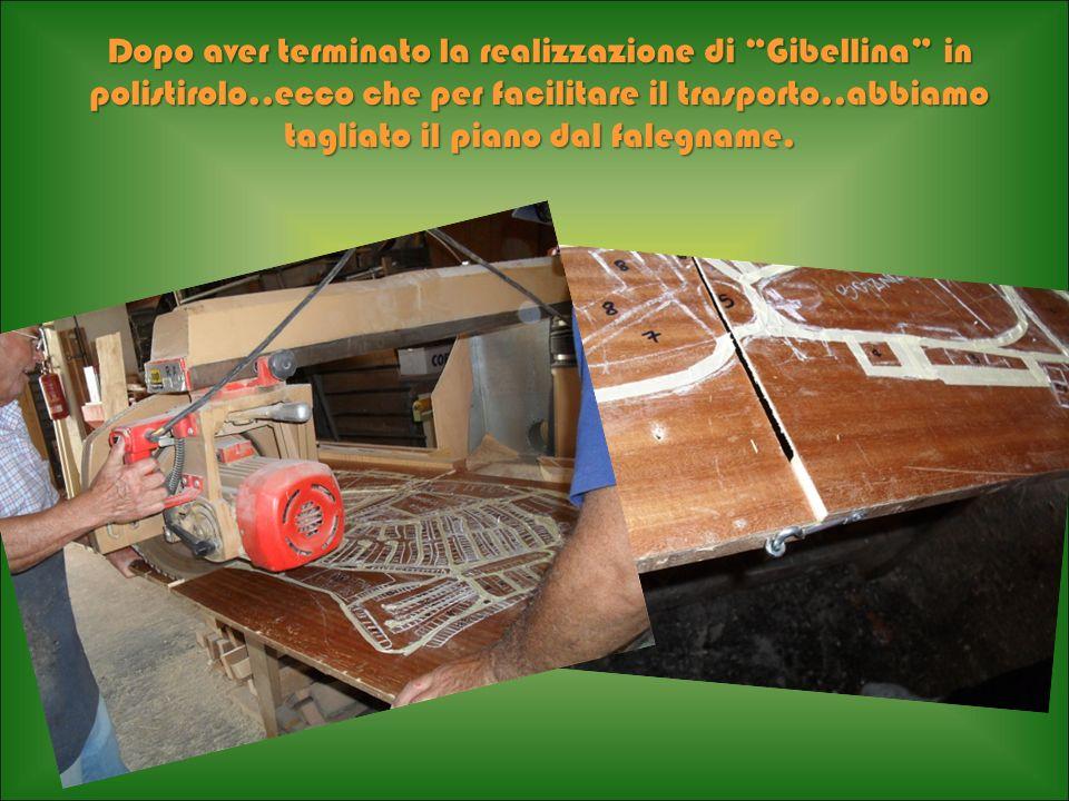 Dopo aver terminato la realizzazione di Gibellina in polistirolo
