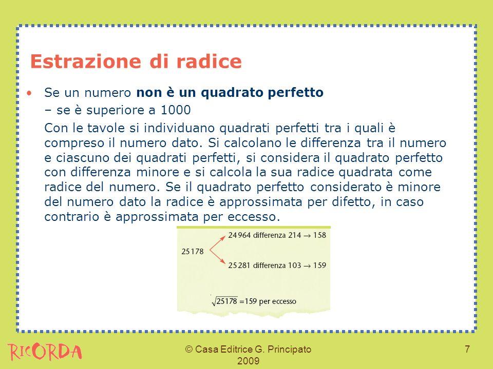 © Casa Editrice G. Principato 2009