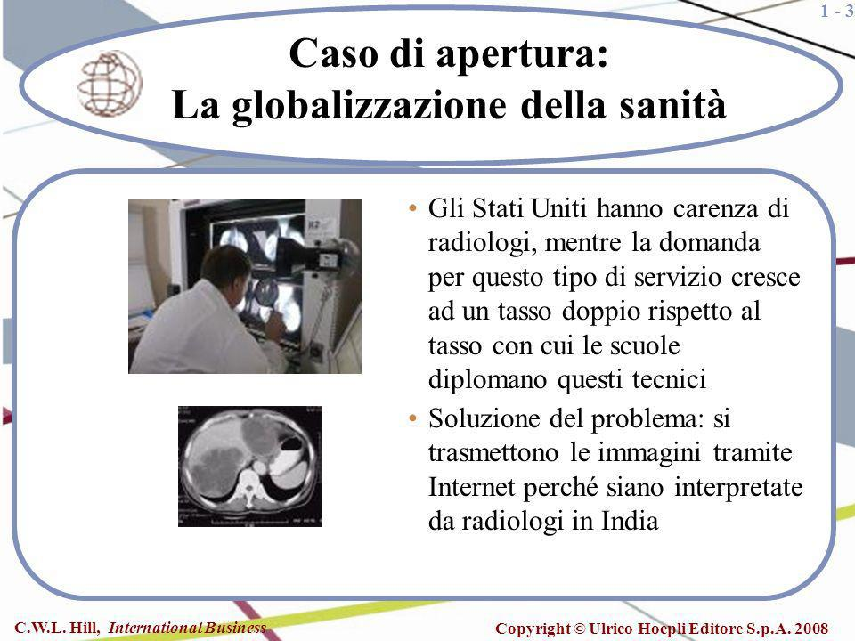 Caso di apertura: La globalizzazione della sanità