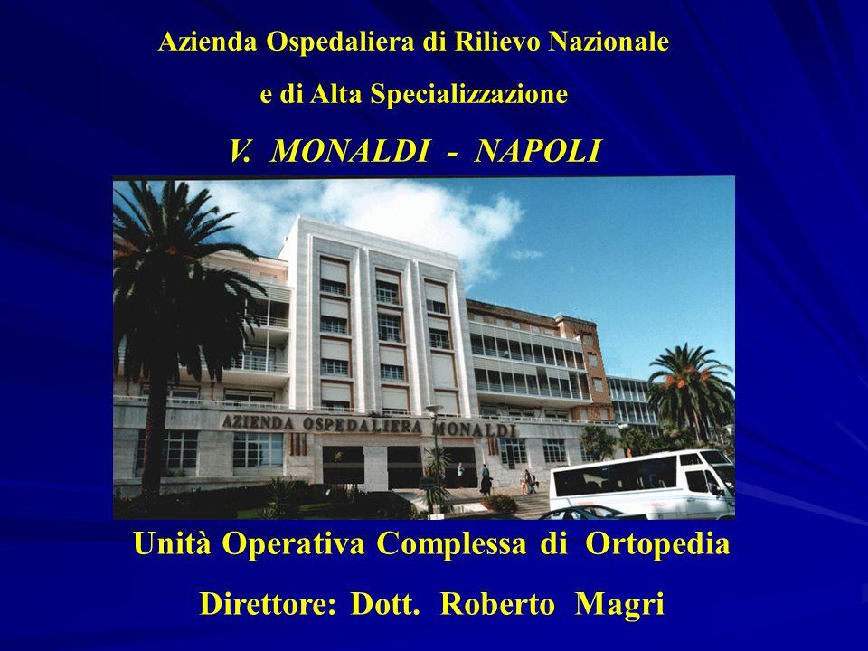 Unità Operativa Complessa di Ortopedia Direttore: Dott. Roberto Magri