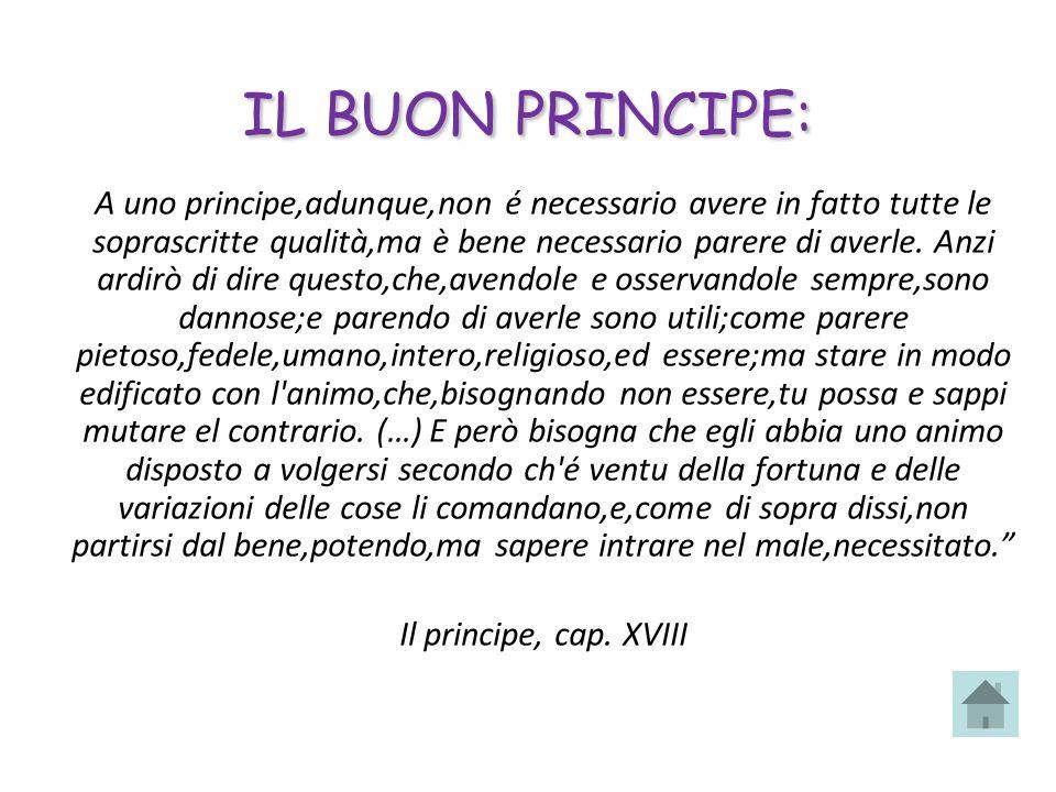 IL BUON PRINCIPE: