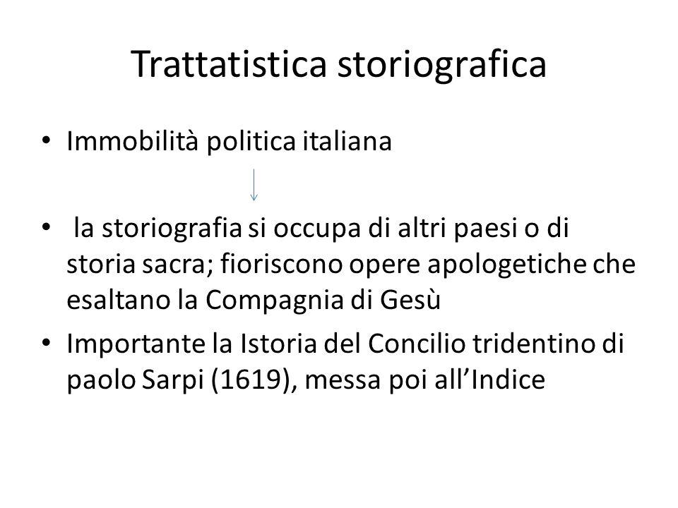 Trattatistica storiografica