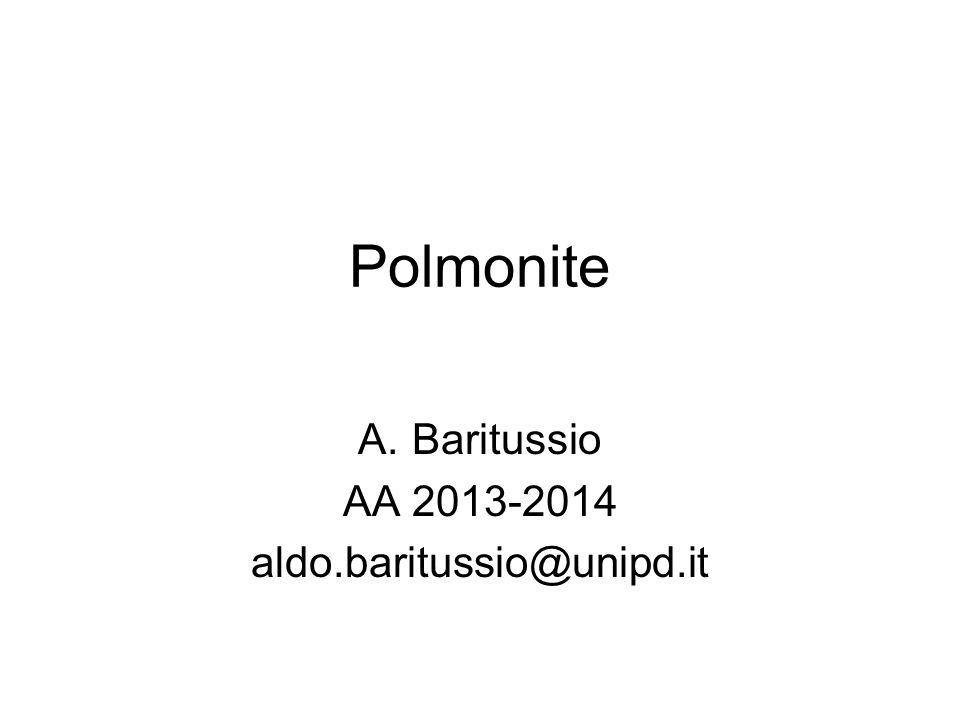 Baritussio AA 2013-2014 aldo.baritussio@unipd.it