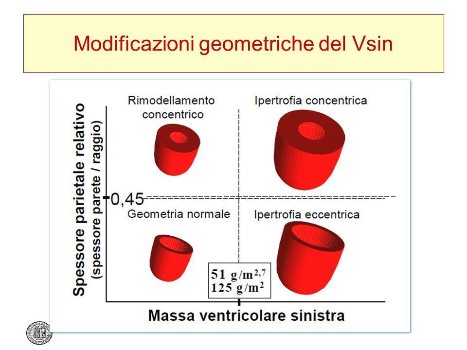 Modificazioni geometriche del Vsin