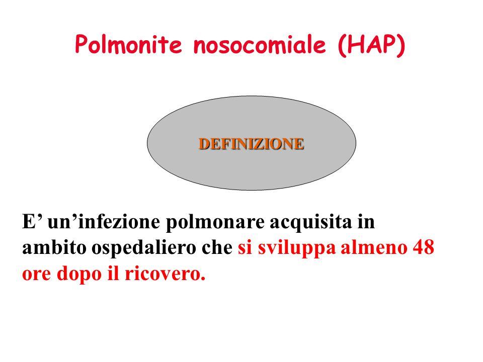 Polmonite nosocomiale (HAP)