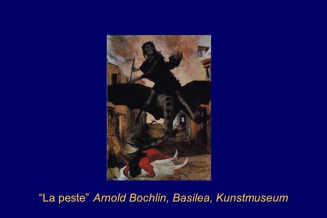 La peste Arnold Bochlin, Basilea, Kunstmuseum
