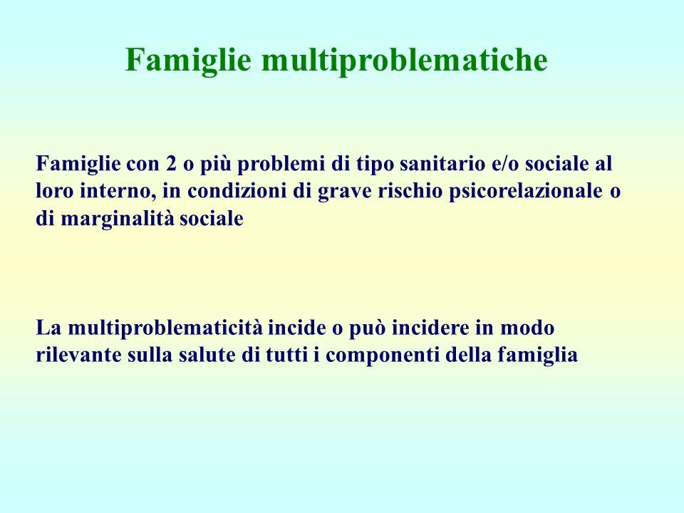 Famiglie multiproblematiche