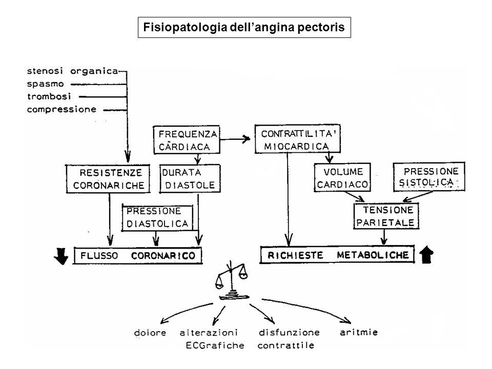 Fisiopatologia dell'angina pectoris
