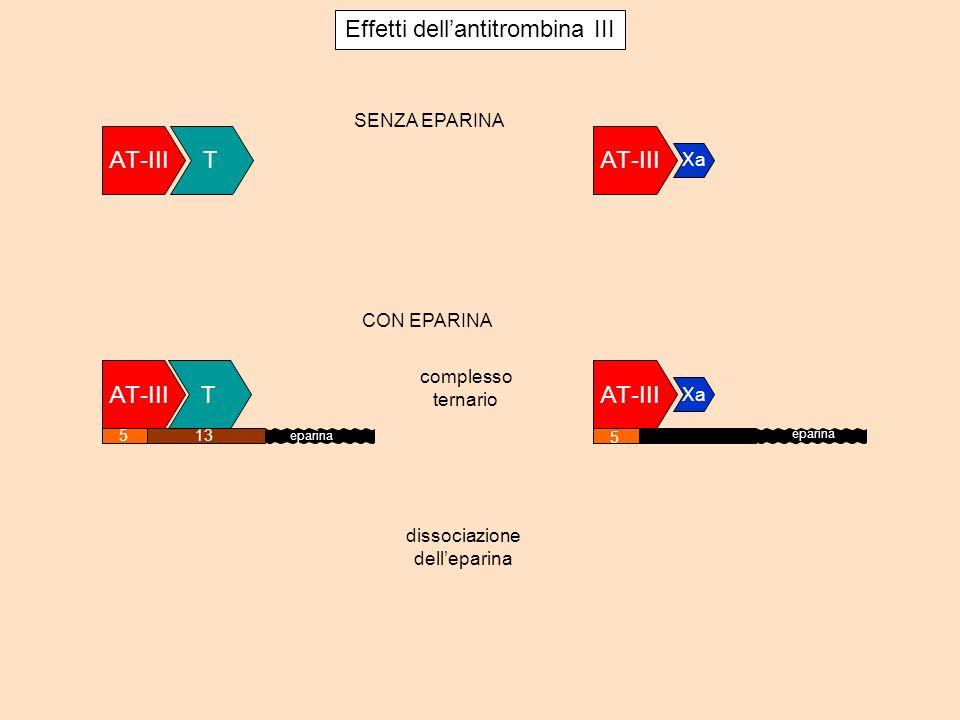Effetti dell'antitrombina III