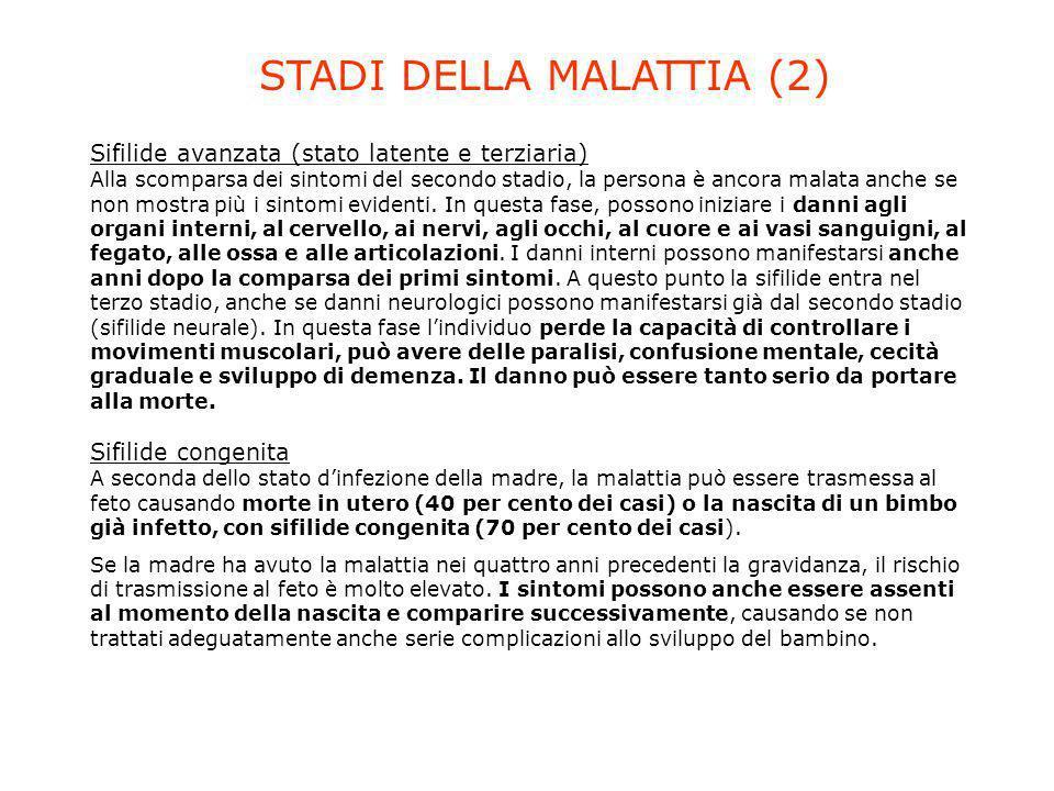 STADI DELLA MALATTIA (2)