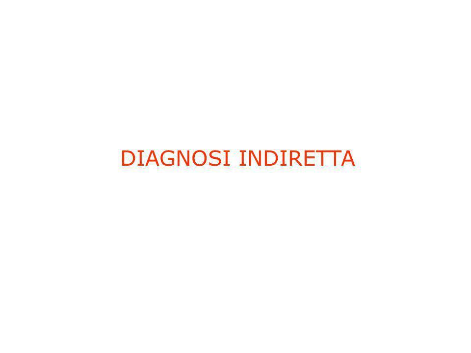 DIAGNOSI INDIRETTA