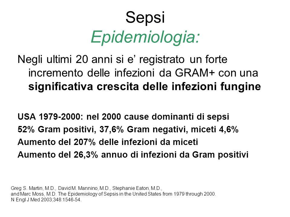 Sepsi Epidemiologia:
