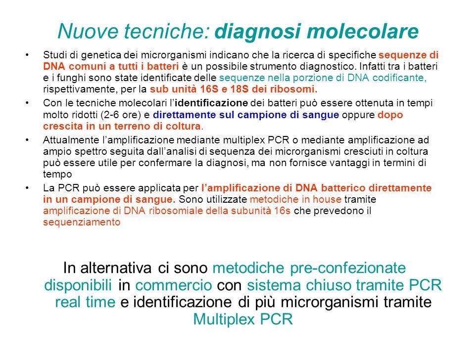 Nuove tecniche: diagnosi molecolare