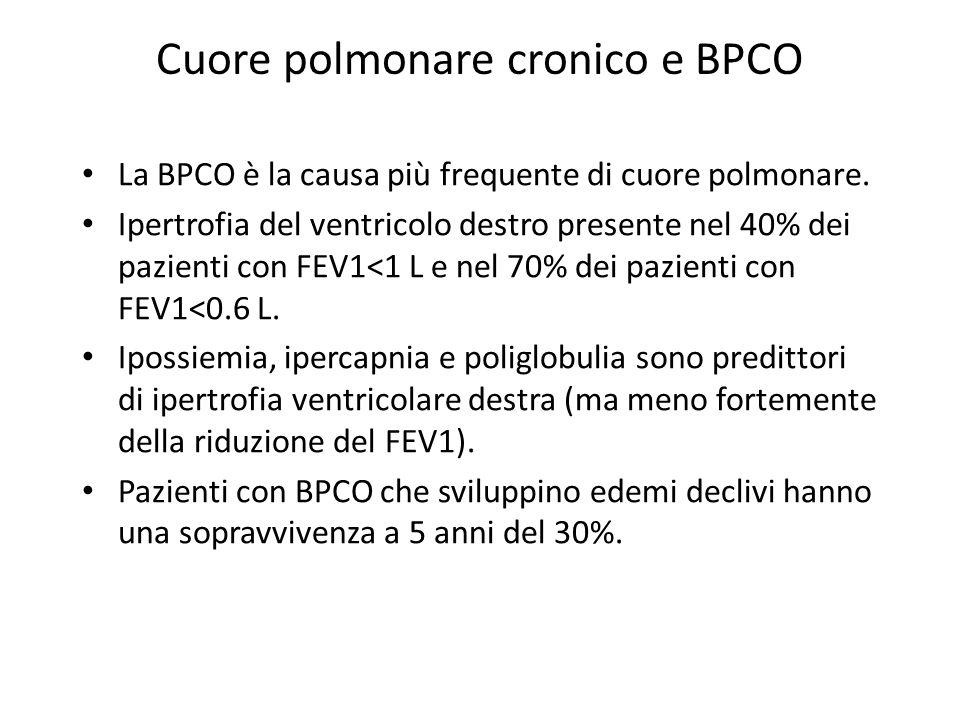 Cuore polmonare cronico e BPCO