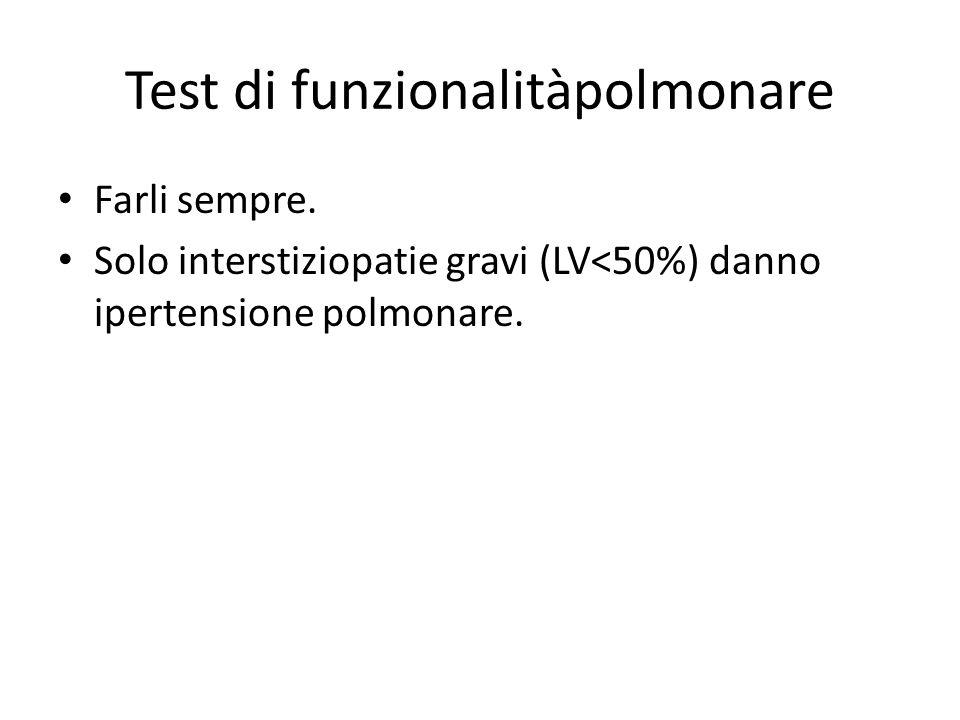 Test di funzionalitàpolmonare