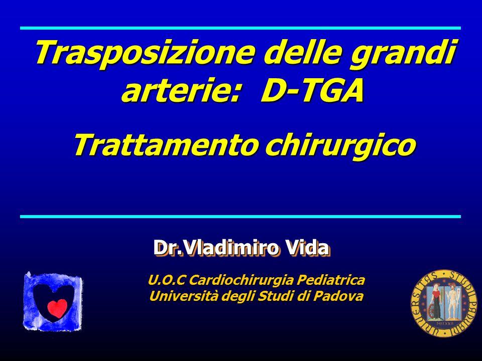 Trasposizione delle grandi arterie: D-TGA