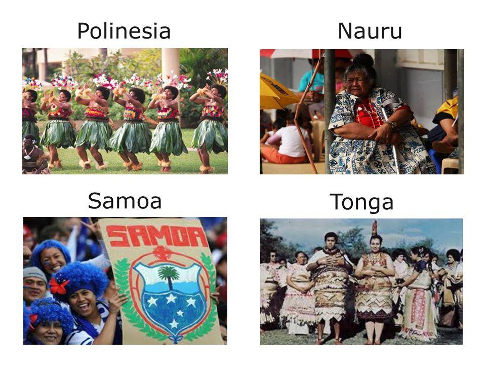 Polinesia Nauru Samoa Tonga