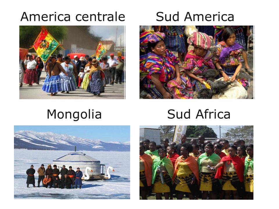 America centrale Sud America