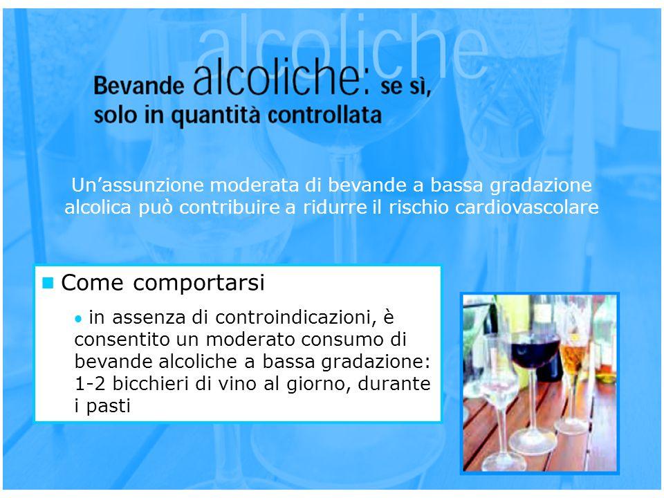 Un'assunzione moderata di bevande a bassa gradazione alcolica può contribuire a ridurre il rischio cardiovascolare