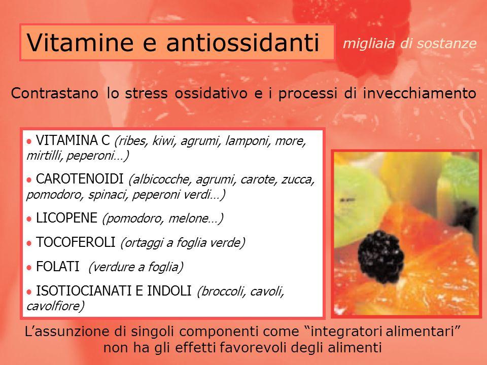 Vitamine e antiossidanti