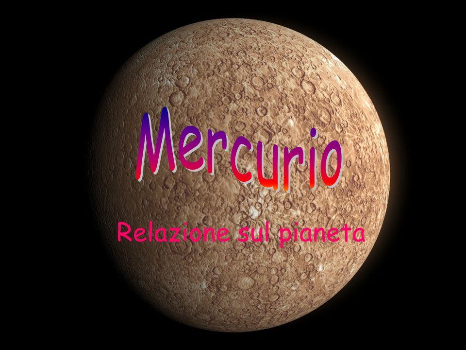 Mercurio Relazione sul pianeta