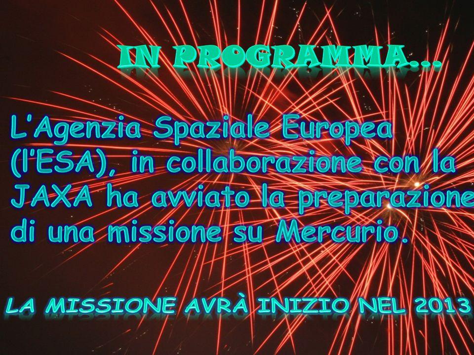 La missione avrà inizio nel 2013