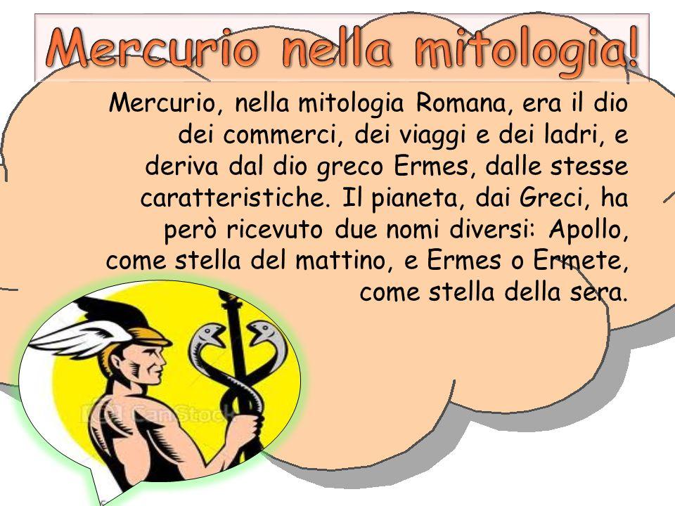 Mercurio nella mitologia!