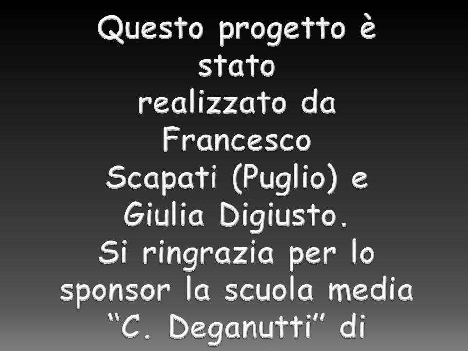 Questo progetto è stato realizzato da Francesco Scapati (Puglio) e